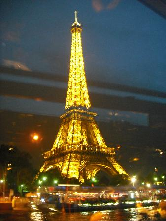 The Eiffel Tower At Night Picture Of PARISCityVISION Paris TripAdvisor