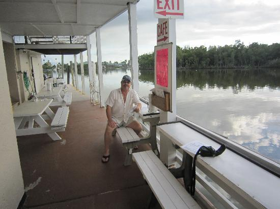 Triad Seafood Market & Cafe : overlooking the Everglades