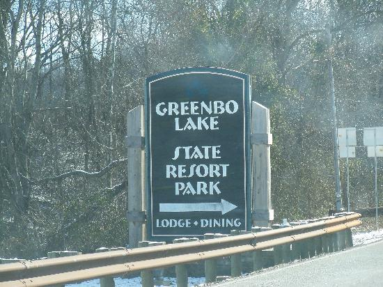 Greenbo Lake State Resort (Jesse Stuart Lodge): Greenbo Lake Resort Park