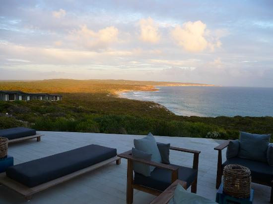 Southern Ocean Lodge: Sunset