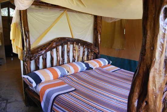 Ndololo Camp : The bed