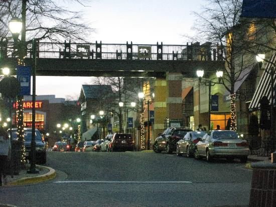 Gaithersburg, MD: View of shopping area