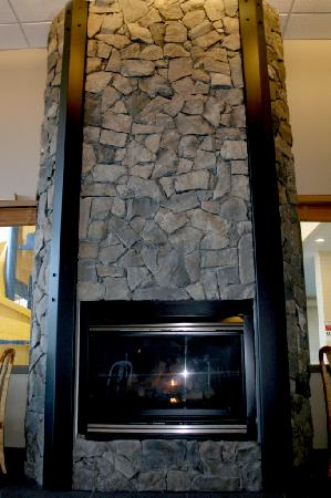 Prestige Treasure Cove: New Stone Fireplace