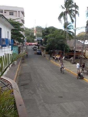 La Estacion: view from balcony