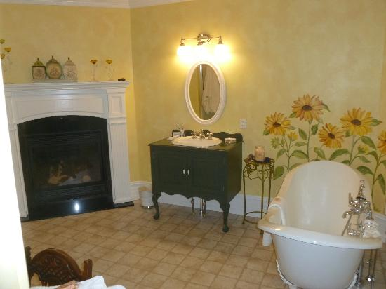 Main Street Inn: Another view of the bathroom.