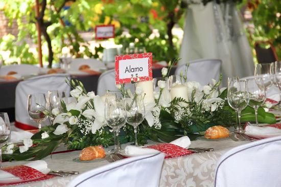 Arnedo, Espagne : Centro de mesa de una boda (de la web)