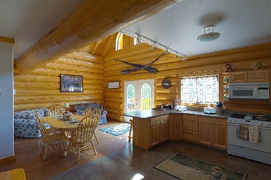 鮭魚釣客小屋照片