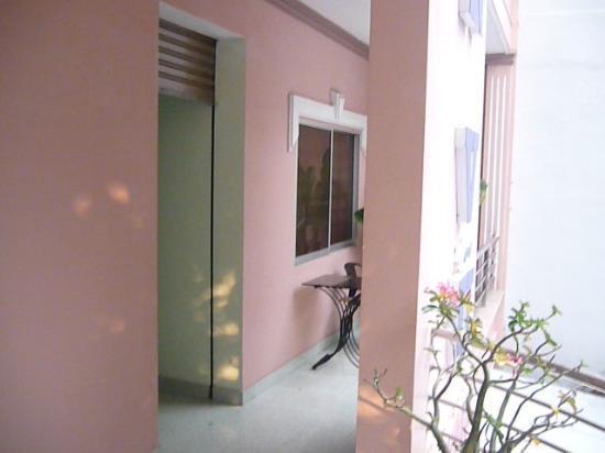 Thien Vu Hotel: auf dem balkon