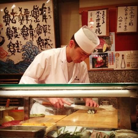 Umegaoka Sushino Midori Ginza: fave chef at Midori, leave it to the expert