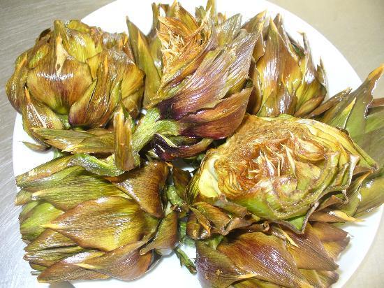 Trattoria Nasca : carciofi fritti