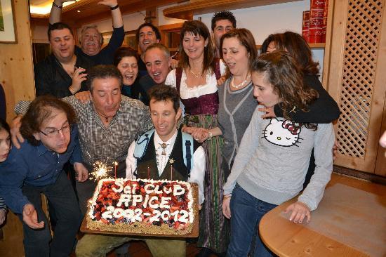 Active Hotel Aurora: festa dei 10 anni all'albergo Aurora