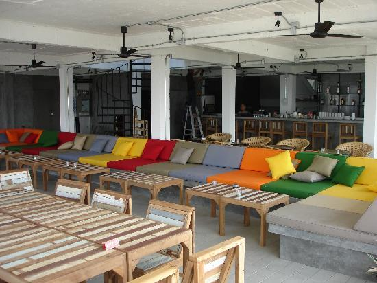 River View Guest House: au roof-top restaurant, c'est ambiance chill out!