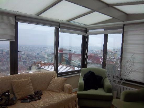 Moss Suites: room living room
