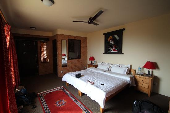 Shivapuri Heights Cottages: Shivapuri bedroom