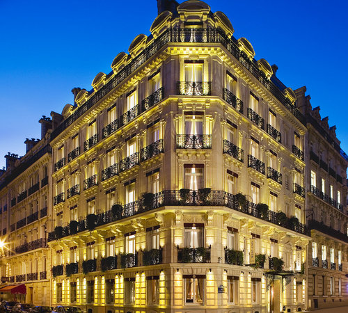 West-End Hotel: Façade Hôtel