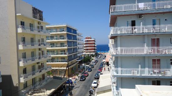 Amaryllis Hotel: vista dal balcone della camera