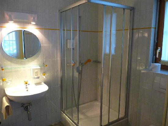 Hotel Crystal: shower in twin without balcony