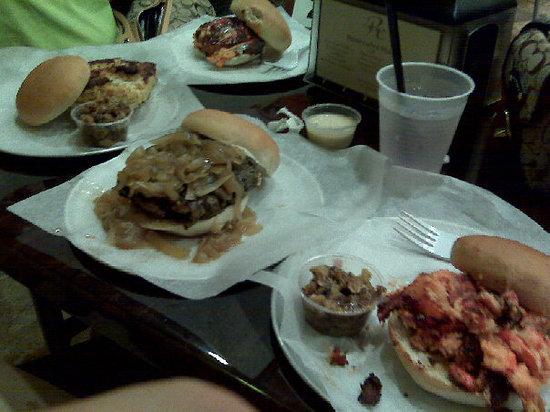 Relish & More: Great burgers!