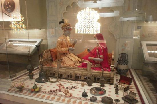 Chhatrapati Shivaji Maharaj Vastu Sangrahalaya : ラジャスタンのパレスの様子を再現