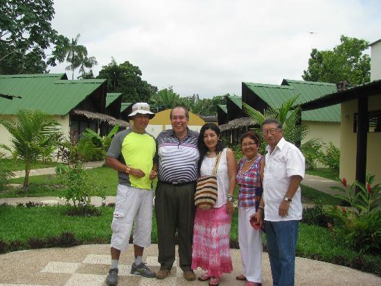 Hotel Amazon Bed & Breakfast: Con mi familia en B&B
