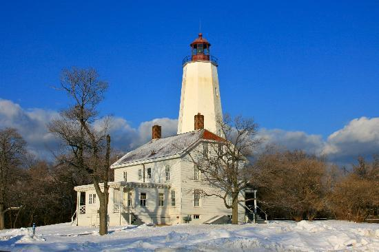 Sandy Hook, Nueva Jersey: Oldest continuously operating lighthouse in US