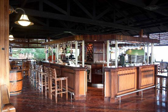 Lake Manyara Wildlife Lodge: bar panoramico