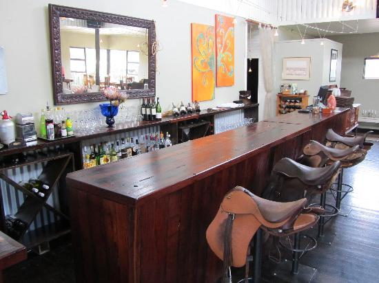 Zucchini Restaurant: Our bar chairs are the coolest in the west