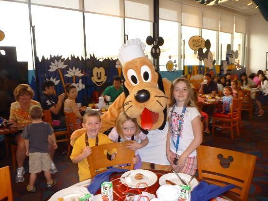 Grand Palms: Chef Mickeys Breakfast