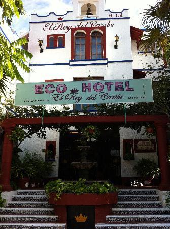 Eco-Hotel El Rey Del Caribe: l'entree