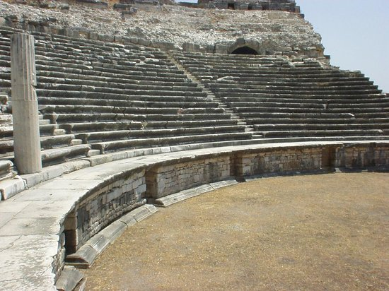 Didim, Turkey: Miletus theater -2