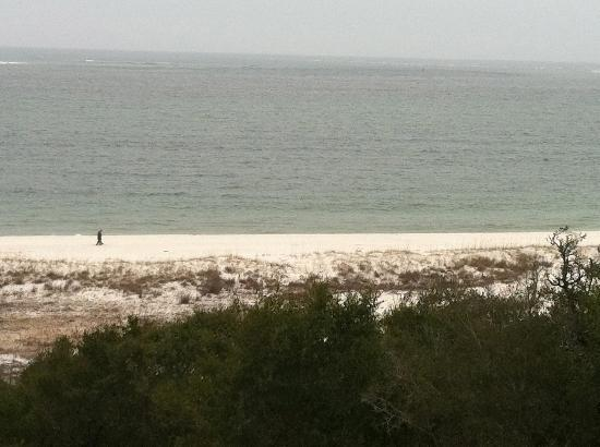 Navy Lodge Pensacola: The beach and Gulf of Mexico