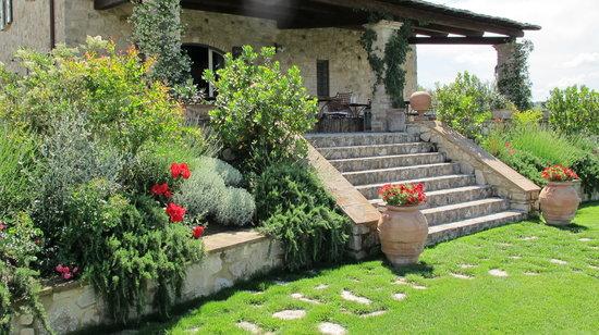 لا بالاتسيتا دل فيسكوفو: il giardino