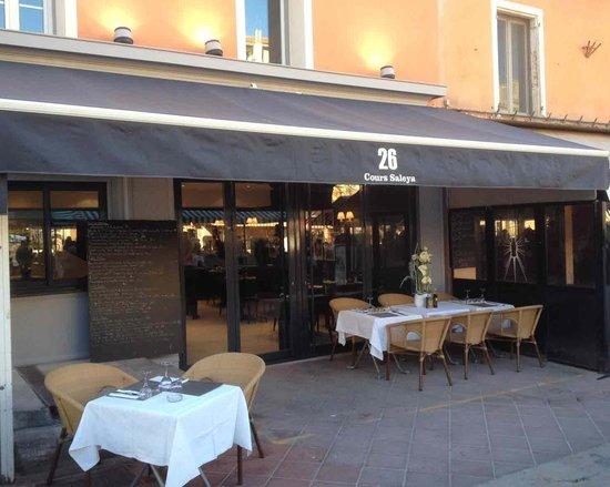 26 Cours Saleya : Facade