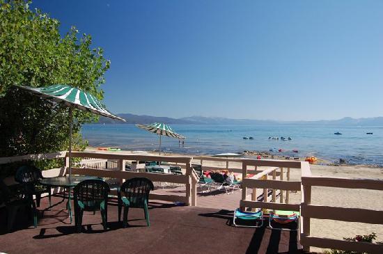 Ferrari's Crown Resort: Come relax on our private beach.