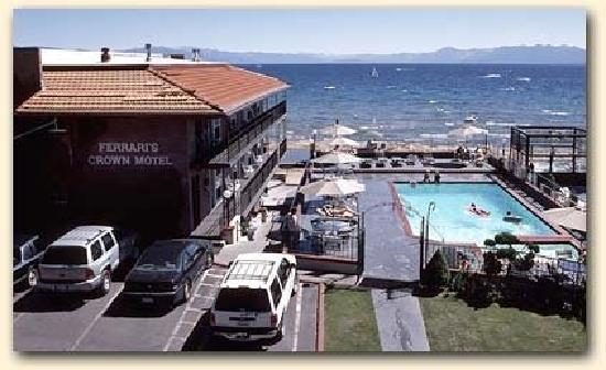 Ferrari's Crown Resort: Our motel in North Lake Tahoe.