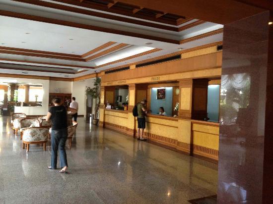 Grand Park Hotel: Réception