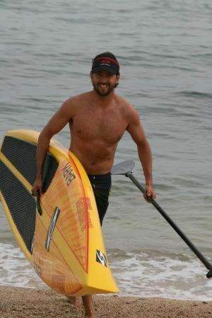Baja Waterman Surf Central: Tablas SUP de surf para carreras.