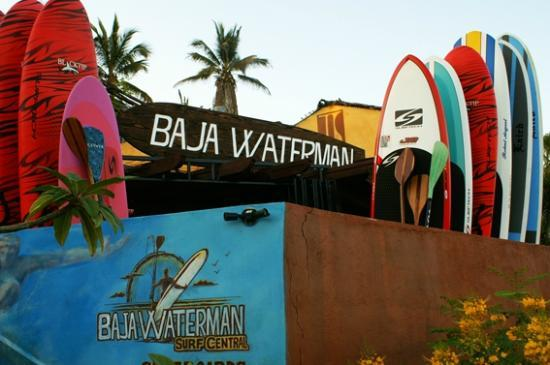 Baja Waterman Surf Central: Todo tipo de tablas en excelentes condiciones