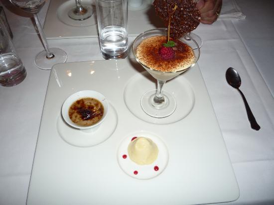 Hotel Au Vieux Moulin : petit aperçu du repas gastronomique