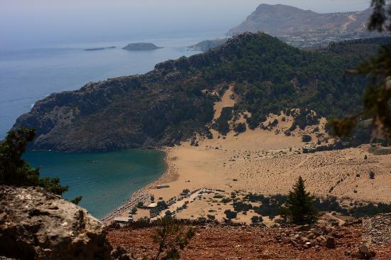 Tsambika Beach: Plaża Tsambika