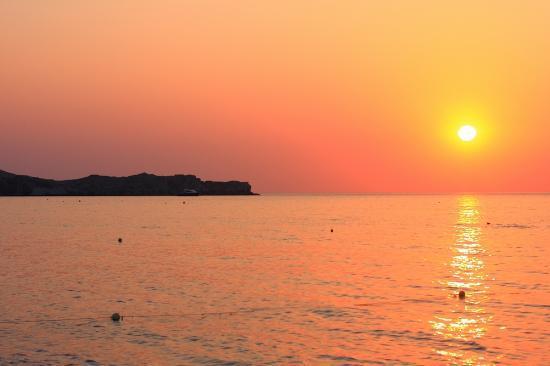 Tsambika Beach: Wschód słońca - Tsambika