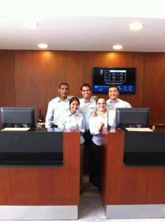 Casa Andina Select Miraflores: staff