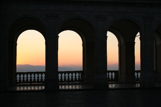 Edra Palace Hotel: tramonto