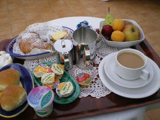 Breakfast at Residence Alcione