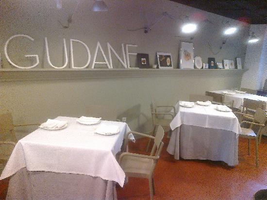 Restaurante Gudane: comedor