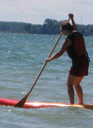 Grand River Kayak: Stand Up Paddleboarding