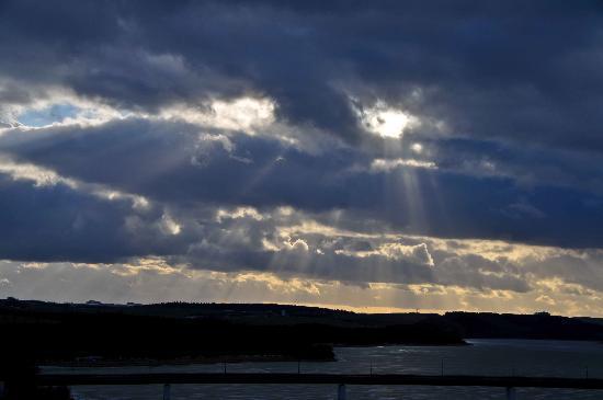 Bio-Seehotel Zeulenroda : Ausblick Wolken