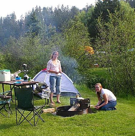 Crooked Creek Resort and RV Park: Creek Side Tenting