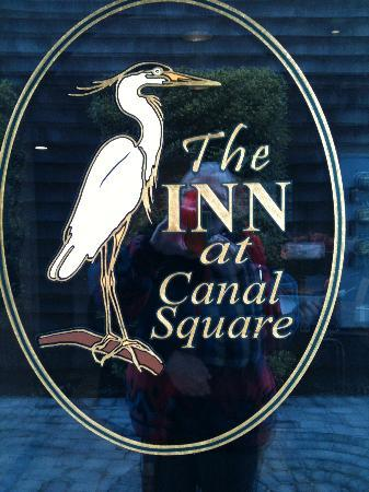 Inn at Canal Square : WELCOME