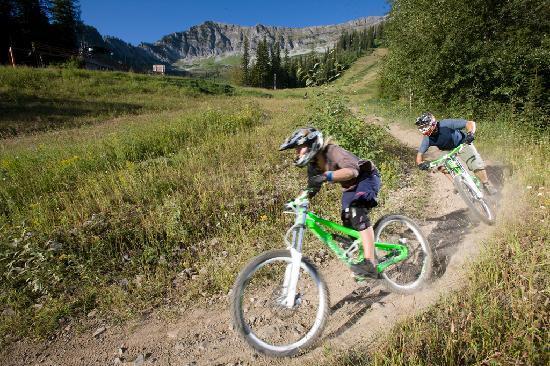 เฟอร์นีย์, แคนาดา: Mountain Biking at Fernie Alpine Resort